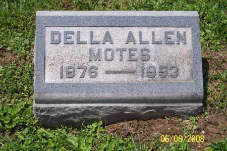 ALLEN MOTES, DELLA - Ross County, Ohio | DELLA ALLEN MOTES - Ohio Gravestone Photos