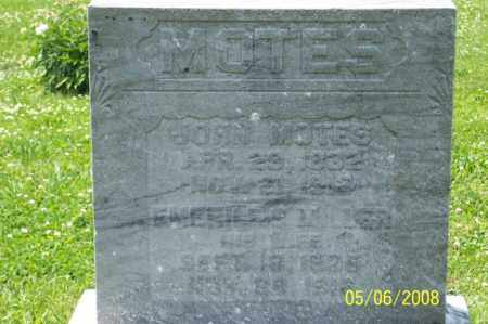 MOTES, EMERILLIS - Ross County, Ohio | EMERILLIS MOTES - Ohio Gravestone Photos