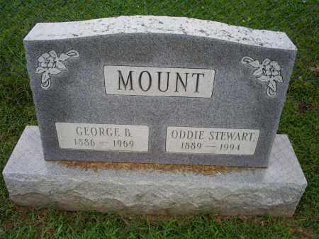 MOUNT, GEORGE B. - Ross County, Ohio | GEORGE B. MOUNT - Ohio Gravestone Photos