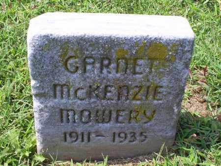 MCKENZIE MOWERY, GARNET - Ross County, Ohio | GARNET MCKENZIE MOWERY - Ohio Gravestone Photos