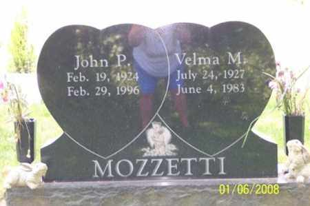MOZZETTI, JOHN P. - Ross County, Ohio | JOHN P. MOZZETTI - Ohio Gravestone Photos