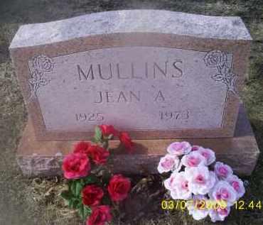 MULLINS, JEAN A. - Ross County, Ohio   JEAN A. MULLINS - Ohio Gravestone Photos