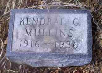MULLINS, KENDRAL G. - Ross County, Ohio | KENDRAL G. MULLINS - Ohio Gravestone Photos