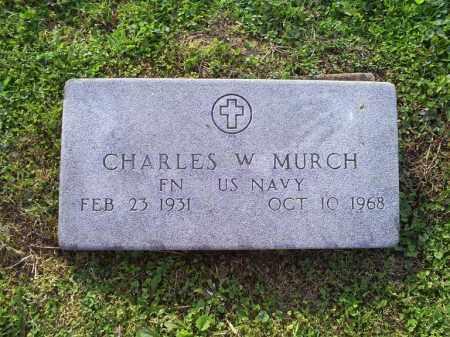 MURCH, CHARLES W. - Ross County, Ohio | CHARLES W. MURCH - Ohio Gravestone Photos