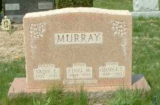 MURRAY, SADIE E. - Ross County, Ohio   SADIE E. MURRAY - Ohio Gravestone Photos