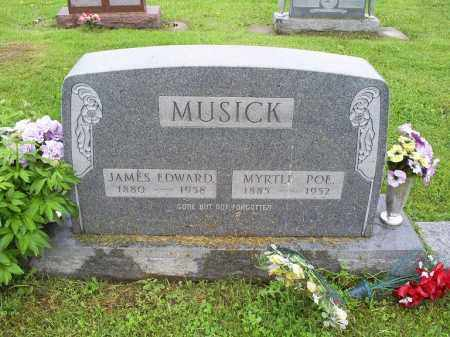 POE MUSICK, MYRTLE - Ross County, Ohio | MYRTLE POE MUSICK - Ohio Gravestone Photos