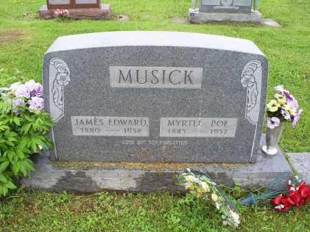 MUSICK, JAMES EDWARD - Ross County, Ohio | JAMES EDWARD MUSICK - Ohio Gravestone Photos