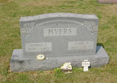 MYERS, ADDIE ELIZABETH - Ross County, Ohio | ADDIE ELIZABETH MYERS - Ohio Gravestone Photos