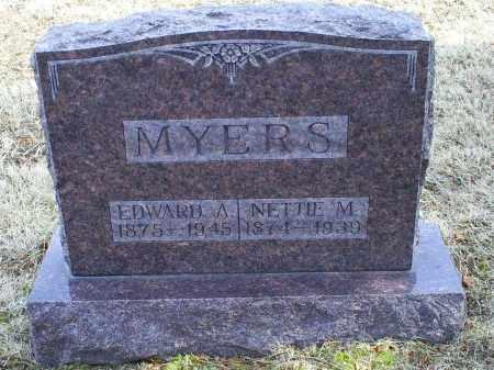 MYERS, EDWARD A. - Ross County, Ohio | EDWARD A. MYERS - Ohio Gravestone Photos