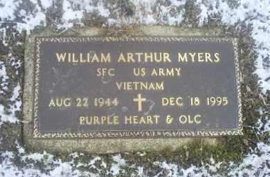 MYERS, WILLIAM ARTHUR - Ross County, Ohio   WILLIAM ARTHUR MYERS - Ohio Gravestone Photos