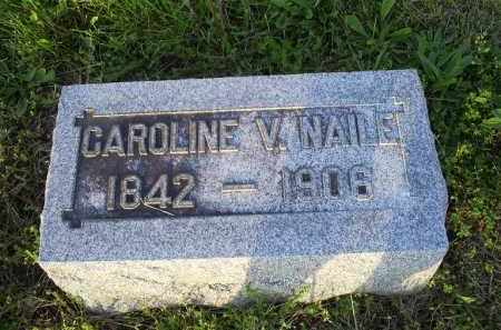 NAILE, CAROLINE V. - Ross County, Ohio   CAROLINE V. NAILE - Ohio Gravestone Photos