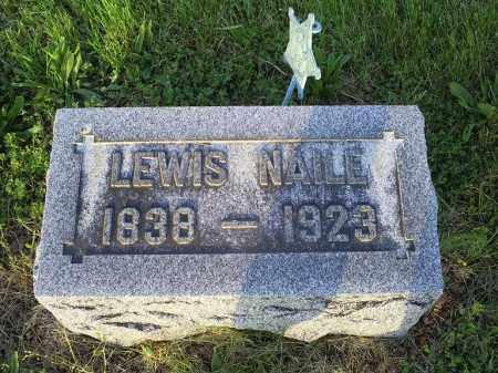 NAILE, LEWIS - Ross County, Ohio   LEWIS NAILE - Ohio Gravestone Photos