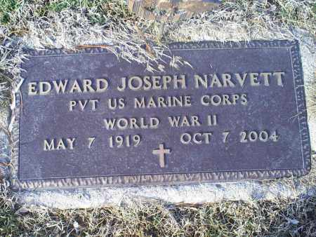 NARVETT, EDWARD JOSEPH - Ross County, Ohio | EDWARD JOSEPH NARVETT - Ohio Gravestone Photos