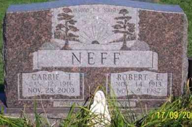 NEFF, CARRIE I. - Ross County, Ohio | CARRIE I. NEFF - Ohio Gravestone Photos