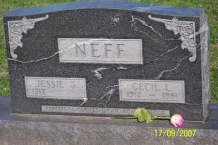 NEFF, CECIL L. - Ross County, Ohio | CECIL L. NEFF - Ohio Gravestone Photos