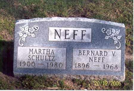 NEFF, BERNARD V. - Ross County, Ohio | BERNARD V. NEFF - Ohio Gravestone Photos