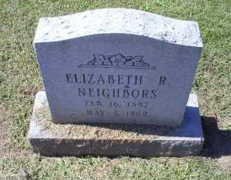 NEIGHBORS, ELIZABETH R. - Ross County, Ohio | ELIZABETH R. NEIGHBORS - Ohio Gravestone Photos
