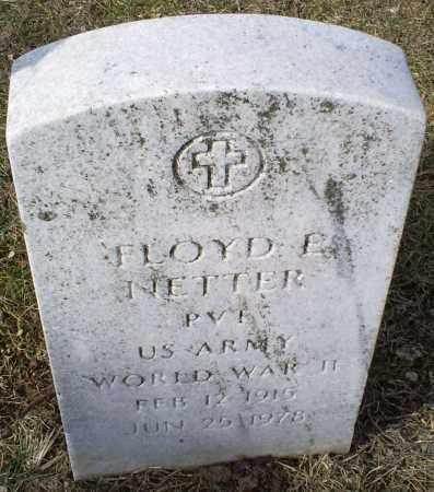 NETTER, FLOYD E. - Ross County, Ohio   FLOYD E. NETTER - Ohio Gravestone Photos