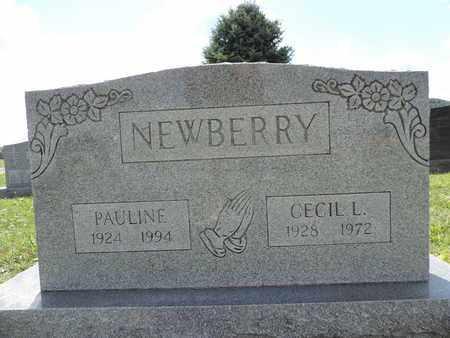 NEWBERRY, CECIL L. - Ross County, Ohio | CECIL L. NEWBERRY - Ohio Gravestone Photos