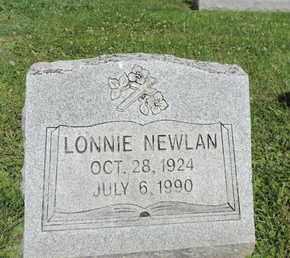 NEWLAN, LONNIE - Ross County, Ohio | LONNIE NEWLAN - Ohio Gravestone Photos