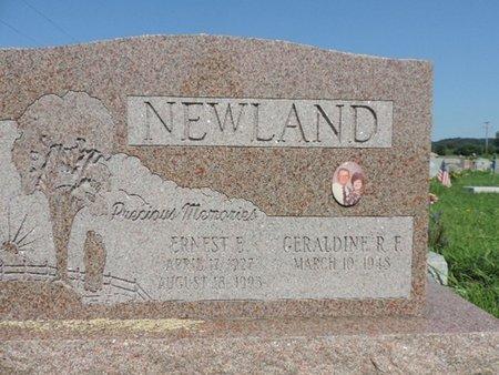 NEWLAND, GERALDINE. R. F. - Ross County, Ohio | GERALDINE. R. F. NEWLAND - Ohio Gravestone Photos