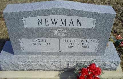 """NEWMAN, LLOYD C. SR. """"BUD"""" - Ross County, Ohio   LLOYD C. SR. """"BUD"""" NEWMAN - Ohio Gravestone Photos"""
