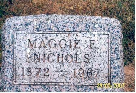 NICHOLS, MAGGIE E. - Ross County, Ohio | MAGGIE E. NICHOLS - Ohio Gravestone Photos