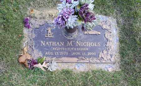 NICHOLS, NATHAN M. - Ross County, Ohio | NATHAN M. NICHOLS - Ohio Gravestone Photos