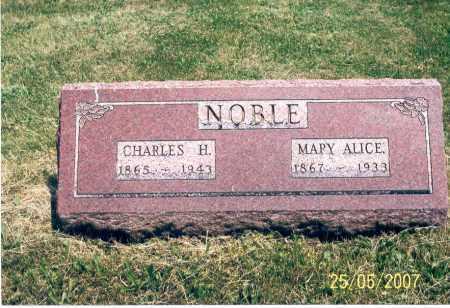 NOBLE, CHARLES H. - Ross County, Ohio | CHARLES H. NOBLE - Ohio Gravestone Photos