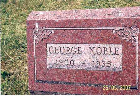 NOBLE, GEORGE - Ross County, Ohio | GEORGE NOBLE - Ohio Gravestone Photos