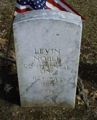 NOBLE, LEVIN - Ross County, Ohio | LEVIN NOBLE - Ohio Gravestone Photos