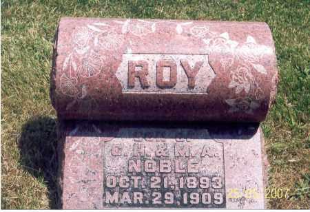 NOBLE, ROY - Ross County, Ohio | ROY NOBLE - Ohio Gravestone Photos