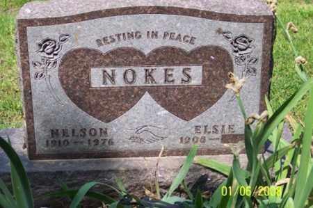 NOKES, NELSON - Ross County, Ohio | NELSON NOKES - Ohio Gravestone Photos