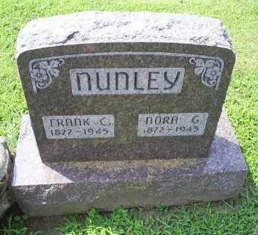 NUNLEY, FRANK C. - Ross County, Ohio   FRANK C. NUNLEY - Ohio Gravestone Photos
