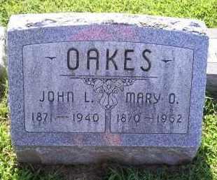 OAKES, MARY O. - Ross County, Ohio | MARY O. OAKES - Ohio Gravestone Photos