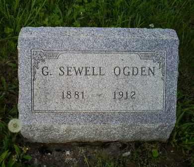 OGDEN, G. - Ross County, Ohio   G. OGDEN - Ohio Gravestone Photos