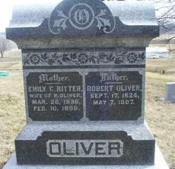 RITTER OLIVER, EMILY C. - Ross County, Ohio | EMILY C. RITTER OLIVER - Ohio Gravestone Photos