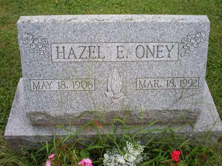 ONEY, HAZEL E. - Ross County, Ohio | HAZEL E. ONEY - Ohio Gravestone Photos
