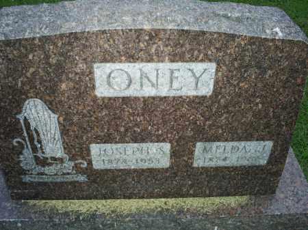 ONEY, JOSEPH S. - Ross County, Ohio | JOSEPH S. ONEY - Ohio Gravestone Photos