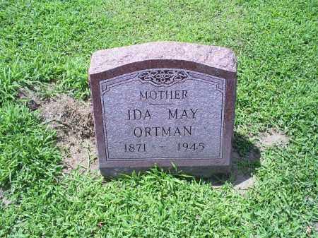 ORTMAN, IDA MAY - Ross County, Ohio   IDA MAY ORTMAN - Ohio Gravestone Photos