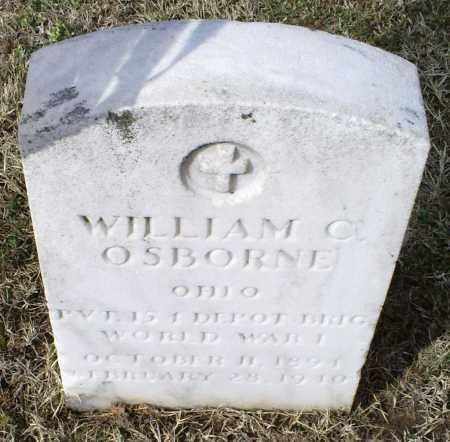 OSBORNE, WILLIAM C. - Ross County, Ohio   WILLIAM C. OSBORNE - Ohio Gravestone Photos