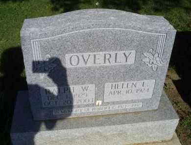 OVERLY, RALPH W. - Ross County, Ohio | RALPH W. OVERLY - Ohio Gravestone Photos
