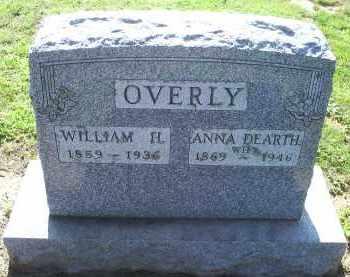 OVERLY, ANNA - Ross County, Ohio | ANNA OVERLY - Ohio Gravestone Photos