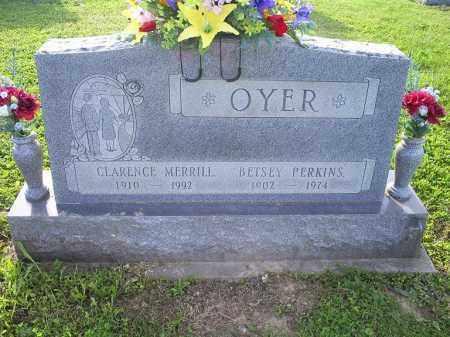 OYER, BETSEY - Ross County, Ohio | BETSEY OYER - Ohio Gravestone Photos