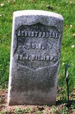 PROEHL, AUGUST - Ross County, Ohio | AUGUST PROEHL - Ohio Gravestone Photos