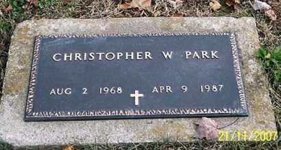 PARK, CHRISTOPHER W. - Ross County, Ohio | CHRISTOPHER W. PARK - Ohio Gravestone Photos