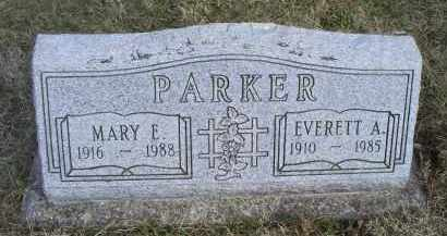 PARKER, EVERETT A. - Ross County, Ohio | EVERETT A. PARKER - Ohio Gravestone Photos