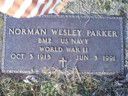 PARKER, NORMAN WESLEY - Ross County, Ohio | NORMAN WESLEY PARKER - Ohio Gravestone Photos