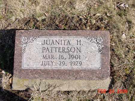 HUFFMAN PATTERSON, JUANITA - Ross County, Ohio | JUANITA HUFFMAN PATTERSON - Ohio Gravestone Photos
