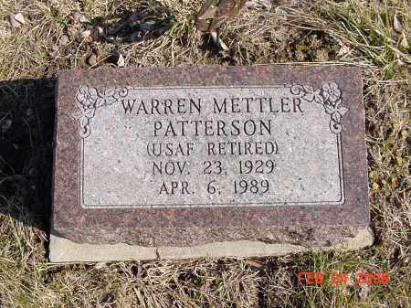 PATTERSON, WARREN - Ross County, Ohio | WARREN PATTERSON - Ohio Gravestone Photos